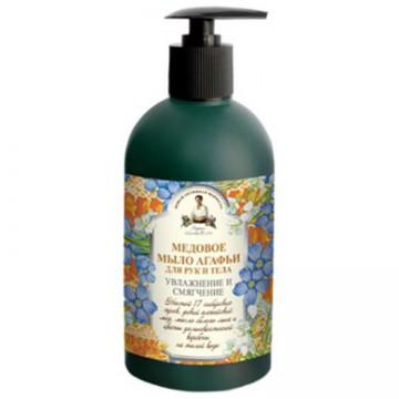 Tekuté medové mydlo na ruky a telo Výživa a zmäkčenie 500ml