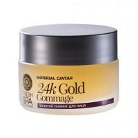 Zlatý omladzujúci pleťový peeling 24K zlato na tvár Imperial Caviar