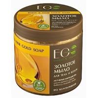 Zlaté marocké mydlo na telo a vlasy 450ml