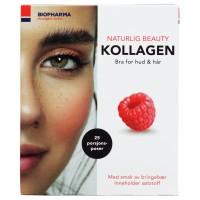 NORSK kolagén malinový - 25 sáčkov