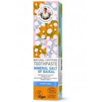Prírodná zubná pasta Bajkalská minerálna soľ pre žiarivý úsmev