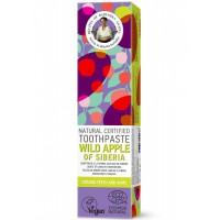 Prírodná zubná pasta Divoké sibírske jablko pre silné zuby a ďasná