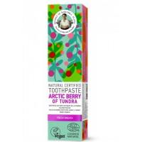 Prírodná zubná pasta Polárne bobule tundry pre svieži dych