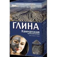 Vulkanický čierny Kamčatský íl na pleť a telo - spevňujúci