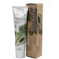 Certifikovaná organická bieliaca zubná pasta s výťažkom z papáje