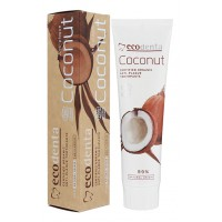 Certifikovaná organická kokosová zubná pasta proti zubnému plaku a kameňu