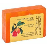 Glycerínové mydlo LE CAFÉ DE BEAUTÉ Citrusová sviežosť 100g