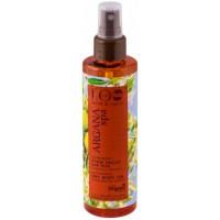 Zvlhčujúci suchý telový olej ARGANA SPA pre hladkú a pevnú pokožku