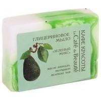 Glycerínové mydlo LE CAFÉ DE BEAUTÉ Zelený mix 100g