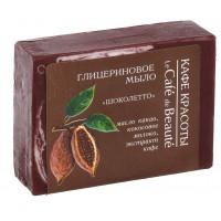 Glycerínové mydlo LE CAFÉ DE BEAUTÉ Chocoletto 100g